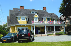 Classic summer cottage in Bar Harbor Stock Image