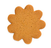 Classic sun-shaped cookies Stock Images
