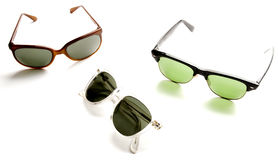 Classic sunglassesk fashion eyewear Royalty Free Stock Photos