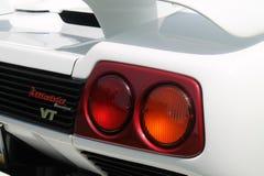 Classic supercar rear detail Royalty Free Stock Photos