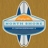 Classic Surf Logo Design vector illustration