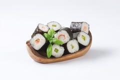 Classic sushi rolls Stock Photo