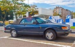 Classic Swedish cabrio car Stock Photography