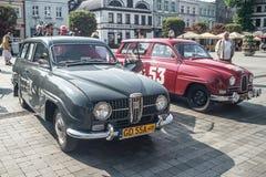 Classic Swedish car Saab 95 Royalty Free Stock Photography