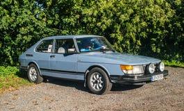 Classic Swedish car Saab 900 Stock Image