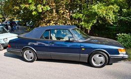 Classic Swedish car Saab 900 cabrio Royalty Free Stock Photography