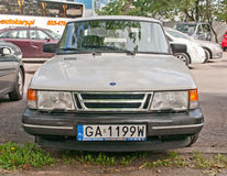 Classic Swedish car Saab 900 Stock Photos