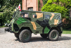 Classic Swedish military car Volvo Stock Photos