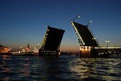Classic symbol of St. Petersburg White Nights Stock Photo