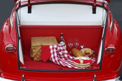 Classic Tailgate Party Royalty Free Stock Images