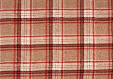 Classic tartan. Royalty Free Stock Image
