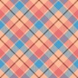 Classic tartan and buffalo check plaid seamless patterns. Vector eps 10 stock illustration