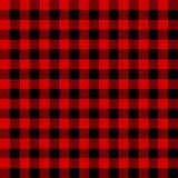 Classic tartan and buffalo check plaid seamless patterns. Vector eps 10 royalty free illustration