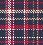 Classic tartan fabric Stock Images