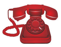 Classic telephone Royalty Free Stock Photos