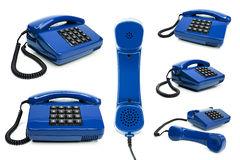 Classic telephone collection Royalty Free Stock Photo