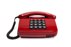 Classic telephone from the eighties Royalty Free Stock Photos