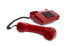 Classic telephone from the eighties Stock Images