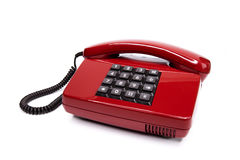Classic telephone from the eighties Royalty Free Stock Image
