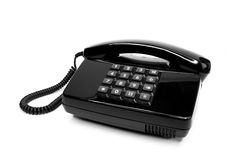 Classic telephone from the eighties Royalty Free Stock Photo