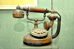 Classic telephone Stock Images