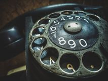 Classic telephone royalty free stock photography