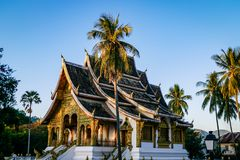 Classic Temple Landmark from Luang Prabang Laos South East Asia stock photos