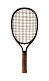 Classic tennis raquet. On white background Royalty Free Stock Images