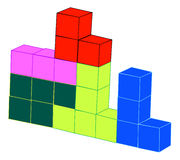 Classic Tetris Game Royalty Free Stock Photography