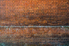 Classic texture red brick wall Royalty Free Stock Image