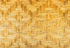 Classic Thai Traditional Handmade Light Brown Rattan Wooden Seamless Pattern Background Texture Royalty Free Stock Photo