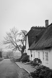 Classic thatched house, Denmark Stock Photos