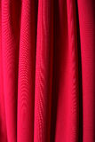 Classic theater curtain Royalty Free Stock Images