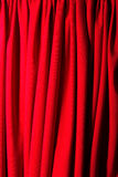 Classic theater curtain Royalty Free Stock Image