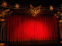 Classic theater Royalty Free Stock Images