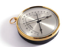 Classic Thermometer & Hygrometer Royalty Free Stock Photos