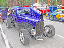 Classic Three Window Coupe Royalty Free Stock Image