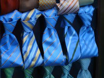 Classic ties Stock Photo