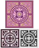 Classic tile design with bonus Royalty Free Stock Photos