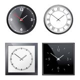 Classic time Clock vector web Royalty Free Stock Photography