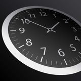 Classic time Clock vector web Stock Photo