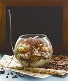 Classic tiramisu in glass toning Stock Images