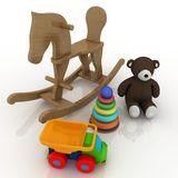 Classic Toys Royalty Free Stock Photography