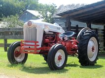 Ford Tractor. A classic tractor, the Jubilee model Ford Tractor manufactured in 1953 Royalty Free Stock Photos