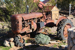 Classic tractor Stock Images