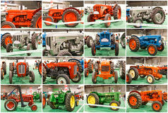 Classic Tractors Stock Images