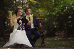 Classic traditional wedding photo Royalty Free Stock Photo