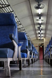 Classic train's compartment Royalty Free Stock Images