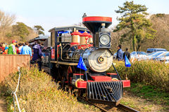 Classic train at EcoLand in Jeju island Stock Photography