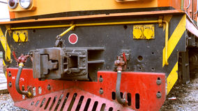 Classic train hook front Stock Photos